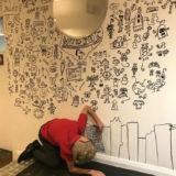 Joe Whale doodle boy